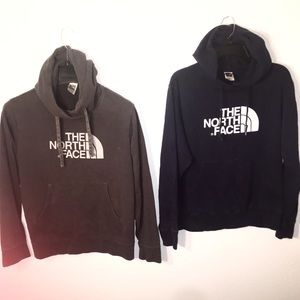 The North Face Hoodie Mens Medium Lot Of 2
